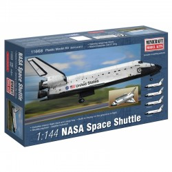 1:144 NASA SHUTTLE BUILDING KIT