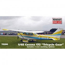 CESSNA 172 WITH CUSTOM REGISTRATION NUMBER 1/48 Scale Kit