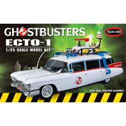 1:25 GHOSTBUSTERS ECTO-1 SNAP KIT