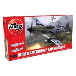 North American P51-D Mustang 1/48 Scale Kit