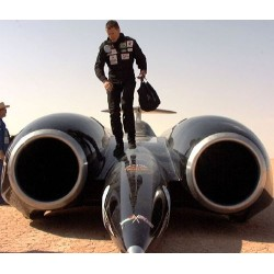 Corgi Diecast model of the current World Land Speed Record holder ThrustSSC