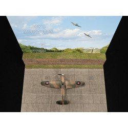 Battle of Britain Airfield Set V.1 (Brick Wall) with Bonus 3D Component (Miliscale / Noy miniatures 720171)