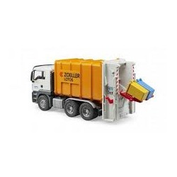 MAN TGS rear-loading garbage truck Bruder