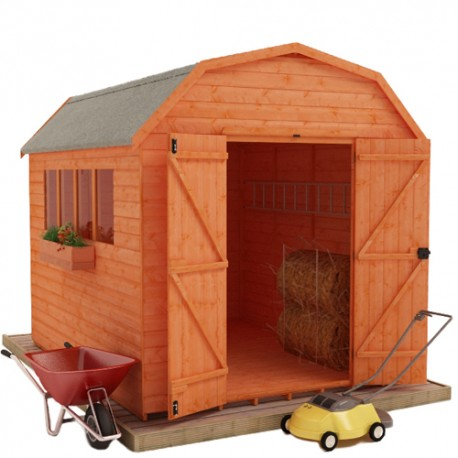 MCL Sheds Timber Mini-Barn 8x10