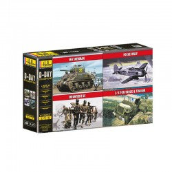 D-Day 1/72 Scale Kit Heller 53008