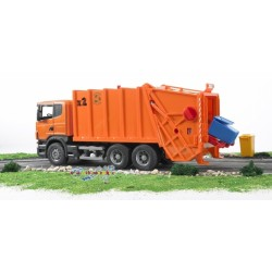 Scania R-Series Garbage Truck (Orange)