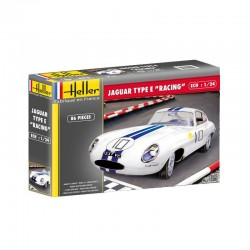 JAGUAR TYPE E LE MANS 1/24 Scale Kit