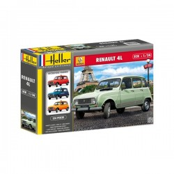 Renault 4L 1/24 Scale kit