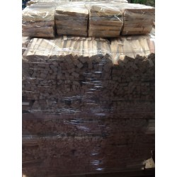 Pallet of 100 Bags of Wood Kindling