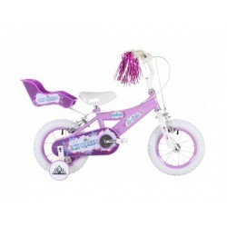 "Bumper Ice Queen, Girls Bike, 14"" 3-5 yrs"