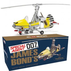 James Bond Gyrocopter 'Little Nellie' 'You Only Live Twice' – 50th anniversary