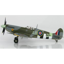 Spitfire MK IXc (RAF, MJ586/LO-D, P/O Pierre Clostermann DFC, 602 Sqn., France, June/July 1944) (Hobbymaster HA8315)