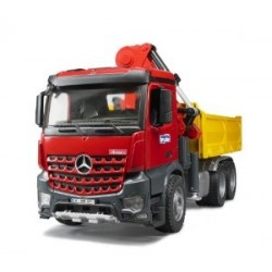 Bruder Mercedes Actros Truck With Crane