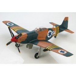"P51D Mustang (Israeli Air Force, 105th Squadron ""Scorpion"", Suez Campaign 1956) (Hobbymaster HA7709)"