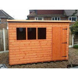 10X6 TIMBER SUPER PENT GARDEN SHED