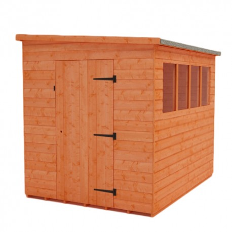 8x12 MCL Shiplap Lean To Pent Shed