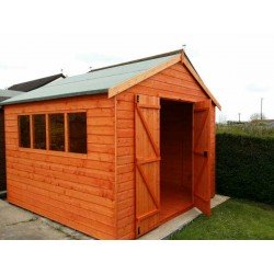 8x10 MCL Heavyweight Workshop Shed