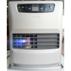 Zibro Toyotomi LC320 3.1Kw NF ROLF Fan Assisted Heater. Silver. Timer Thermostat Child lock Co Sensor Etc