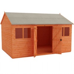 12x8 Workman Workshop Garden Shed