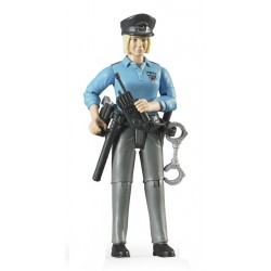 Bruder Policewoman, , Accessories
