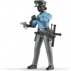 Bruder Policewoman,, Accessories