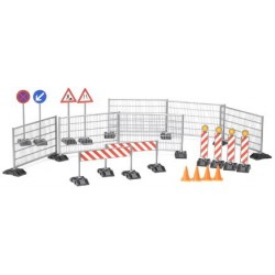Bruder World Accessories Construction Set