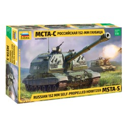 Russian 152 mm Self-Propelled Howitzer MSTA-S 1/35 Scale kit