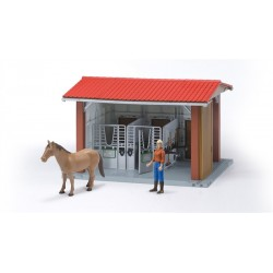 Bruder World Horse Stable And Rider