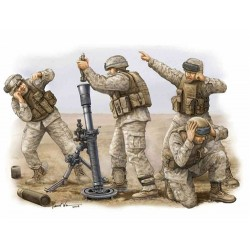 USMC M252 Mortar Crew 1/35 Scale Kit