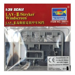 LAV-III/Stryker Windscreen Units 1/35 Scale