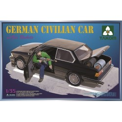 German Civilian Car with Gas Rockets 1/35 Scale Kit