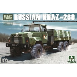 Russian KrAZ-260 Truck 1/35 Scale Kit