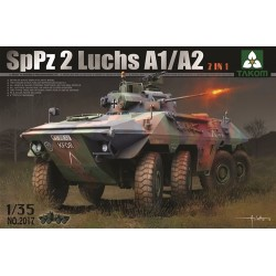 Bundeswehr SpPz 2 Luchs A1/A2 '2 in 1' 1/35 Scale Kit