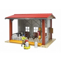 Bruder World Cow Barn Milking Parlour