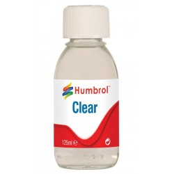 Humbrol Gloss Clear - 125ml Bottle