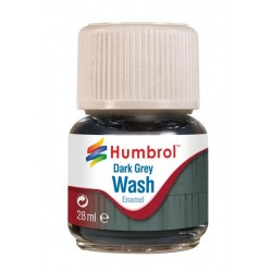 Enamel Wash Dark Grey 28ml