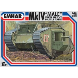 Mk IV Male WWI Heavy Battle Tank 1/35 Scale