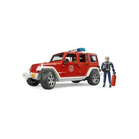 Jeep Wrangler Unlimited Rubicon fire department