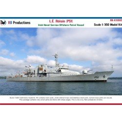 Scale 1/350 L.E. Roisin (P51) Irish Naval Service OPV  Resin kit with Brass Etch