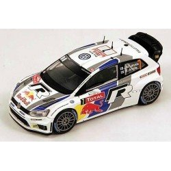 Vw Polo R Wrc Red Bull Bel 1/24