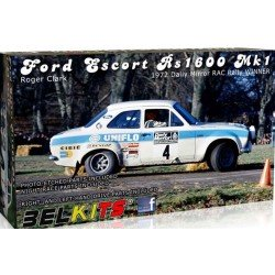 Ford Escort Mki Rally 1972 R Clark Bel Kit 1/24