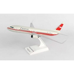 B737-800 American 'TWA' Retro Model 1/130 Scale Clickmodel