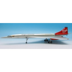 Diecast Concorde (Virgin Atlantic) G-FAST (J Fox Models JFI-CONC-005) Prebuilt Model 1/200