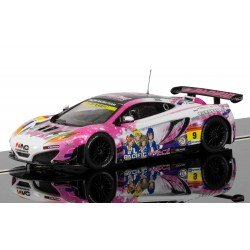 Scalextric Slot Car MCLAREN 12C GT3, PACIFIC RACING (ANIME)