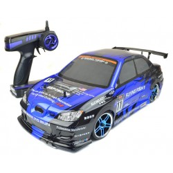 Subaru WRX Style Drift RC Car - PRO Brushless Version 4WD