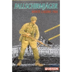 1/16 Scale German Fallschirmjager Monte Cassino 1944 Soldier Model Kit