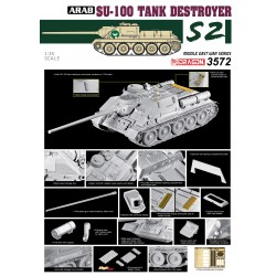 Egyptian Army Su-100 Tank 1/35 Scale Kit
