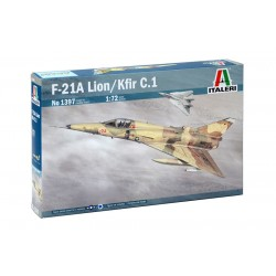 F-21A LION/KFIR C.1 1/72 Scale Kit
