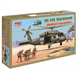 1:48 Scale Kit UH-60L BLACKHAWK MEDIVAC