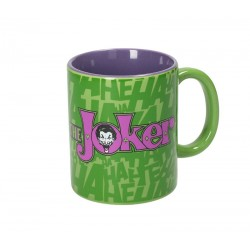 DC JOKER LOGO GREEN-PURPPLE MUG